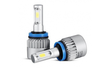 LED koplampen set / H11 fitting / Waterproof / 36W 4000 lumen per lamp 8000 totaal