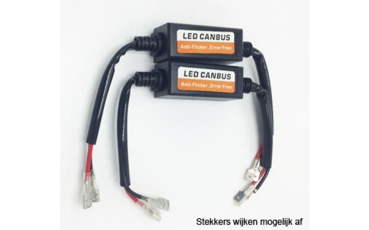 Anti-flikker module 9005 voor LED koplampen / Voorkomt foutmeldingen Canbus / Set van 2