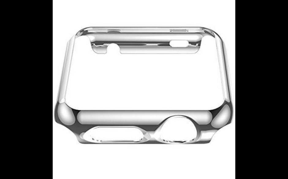 Case bescherming voor iWatch Apple Watch Hoco / Zwart Gloss / 38mm