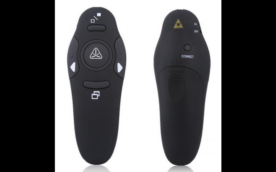 Presentatie afstandsbediening Presenter voor Powerpoint en meer / RF pointer pen met USB
