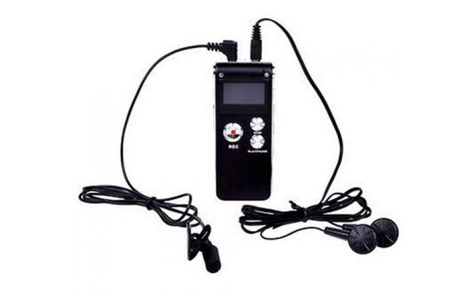 Audiorecorder Opname apparaat Audio / 8GB digitaal opnemen / HaverCo