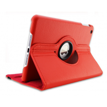 Smart Cover 360 graden voor iPad Air 5 / Flip case met standaard / Rood