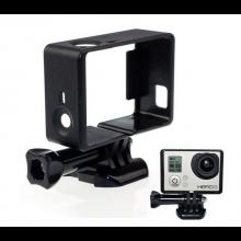 Premium Frame Mount voor GoPro Hero 3/3+/4 / Randen bescherming en bevestiging houder incl Buckle