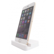 Dock voor iPhone 6 / Lightning Docking Station / Charger Oplader USB / Wit