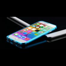 Aluminium bumper frame case ring hoes voor iPhone 6 4.7 inch / Kleur: Blauw