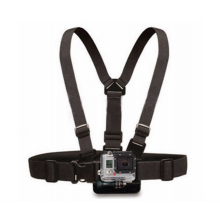 Borstband Borstharnas Borsthouder Chest Mount Harness voor GoPro Hero 1, 2, 3 en 4 / HaverCo