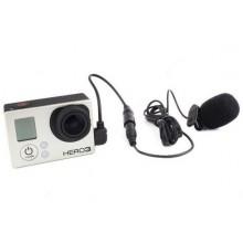 Microfoon voor GoPro (Hero 3 en 3+ / Met MINI USB aansluiting) / HaverCo