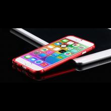 Aluminium bumper frame case ring hoes voor iPhone 6 4.7 inch / Kleur: Rood