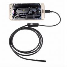 Endoscoop Borescoop 7mm lens met USB aansluiting / Kijk beelden op uw laptop of PC / 5 meter / Waterdicht