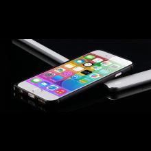 Aluminium bumper frame case ring hoes voor iPhone 6 4.7 inch / Kleur: Zwart