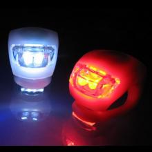 LED fietslampjes set 1x rood + 1x wit / Set fietsverlichting