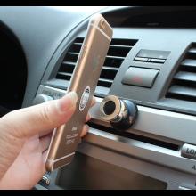 Magnetische houder voor oa mobiele telefoon in de auto / Zwart