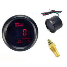 Olietemperatuur meter 52mm voor Auto en motor / Inclusief sensor NPT 1/8 12 volt