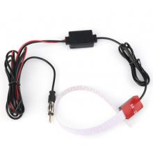FM AM antenne met raambevestiging voor autoradio / Met versterker booster / HaverCo