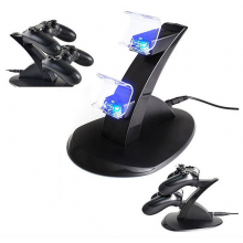 Dock voor Playstation 4 PS4 controllers met LED verlichting / Oplader Oplaadstation