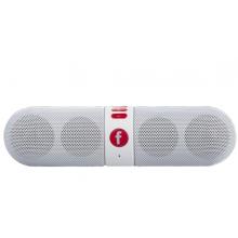 Speakerbar draadloos Bluetooth met ingebouwde accu / 3W vermogen / AUX-in en ingebouwd MicroSD slot / Wit