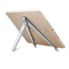 iPad standaard aluminium / Opklapbaar opvouwbaar / Voor 7 t/m 10 inch
