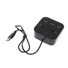 SD-kaart reader hub met USB-aansluiting SD MMC M2 MS MP / HaverCo