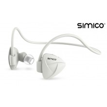 SIMICO X1 Sport Headset wireless met Bluetooth functie / iOS & Android compatible / Bluetooth Sport Headset / Oortjes Koptelefoon Oordopjes Hardlopen