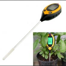 Bodemmeter instrument / Temperatuur Vochtigheid Zuurgraad Licht / Plantenbodem meter