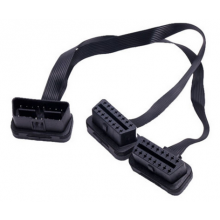 OBD splitter kabel lengte 30cm / OBD2 OBDII