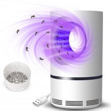 Muggenvanger lamp voor tegen de muggen Vanger 5W USB aansluiting met aanzuig ventilator / HaverCo
