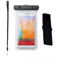 Waterproof bag hoes etui Wit voor telefoon voor iPhone, Samsung Galaxy, LG, HTC etc