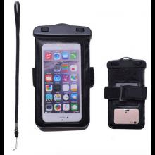 Waterproof bag hoes etui Zwart voor telefoon voor iPhone, Samsung Galaxy, LG, HTC etc