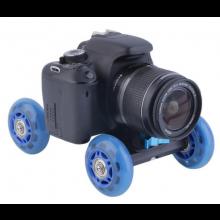 Dolly voor camera / Volledig verstelbaar / Geschikt voor Smartphone DSLR GoPro etc