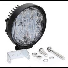 2 stuks LED lamp CREE 12V 27W 4 inch diameter / Waterdicht / Flood beam