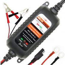 Acculader 6V en 12V 0.75A Druppellader / Voor auto's en motorfietsen