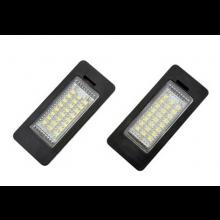 Kenteken LED verlichting met Canbus (error-free) voor BMW E60 E61 E70 E71 E90 E91 E92 E93