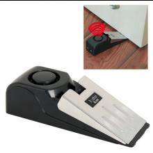 Deurstopper met alarm / Ideaal voor in hotelkamers / Compact op batterijen / Deuralarm Alarm