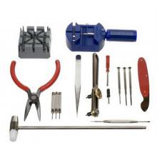 Gereedschapset Tools voor horloge horlogemaker gereedschap 16 stuks