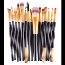 Make-up kwasten penselen borstel set 15 stuks / Verschillende maten