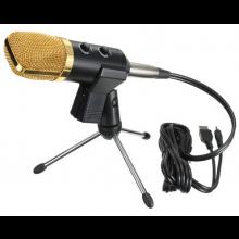 Microfoon USB Condensor kit Sound Studio met standaard voor Radio KTV Karaoke Opnames Audio / HaverCo
