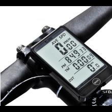 Fietscomputer HaverCo waterdicht Snelheidsmeter Tripmeter met verlicht LCD scherm