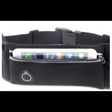 Hardloop pouch buideltas met telefoonhouder Zwart / Vochtbestendig / HaverCo