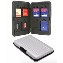 Micro SD Memorycard SDXC houder doosje voor 16 stuks / HaverCo / SD SDHC SDXC Micro SD card