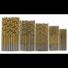 Boortjes set voor staal Staalboren 50 stuks in 5 maten (5x 10 stuks) 1.0mm t/m 3.0mm / HaverCo