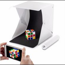 Opvouwbare Fotostudio tent Softbox met ingebouwde LED-verlichting en achtergronden (zwart/wit) / HaverCo
