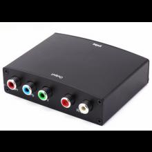 HDMI in naar RGB out omvormer adapter met 220V voeding / 1080P ondersteuning / YPbPr video RL audio