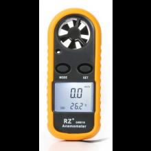 Anemometer draagbaar compact HaverCo / Windmeter 30m/s met LCD scherm Digitaal