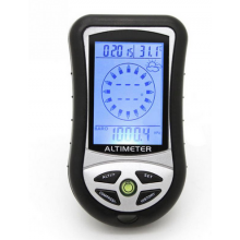 Hoogtemeter 8 in 1 Altimeter Barometer Kompas Tijd Kalender Thermometer / HaverCo