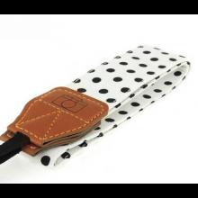 Camera strap band nekband neckstrap universeel met polka dots / HaverCo