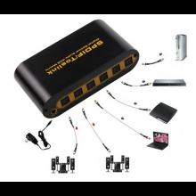 Toslink 4x2 Switch Switcher Splitter SPDIF TOSLINK Digital Optical Audio (4x in en 2x uit) / HaverCo
