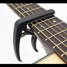 Gitaar capo voor 6 snaren tuning clamp stemmen slozz Zwart / HaverCo