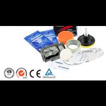 Koplamp poetsen set Headlight polishing kit inclusief polijstmiddel / HaverCo