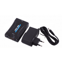 Scart naar HDMI adapter converter Scart-IN naar HDMI-out 1080P met 220V adapter / HaverCo