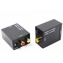 Converter SPDIF digitaal toslink naar RCA analoog audio omvormer